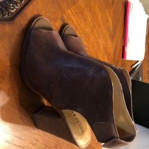 Lucky Brand brown leather shoes